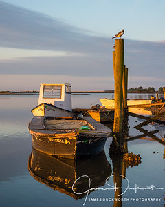 Oyster Boat, East Point, Florida