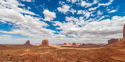 Monument Valley Clouds
