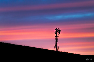 Sunset Palouse