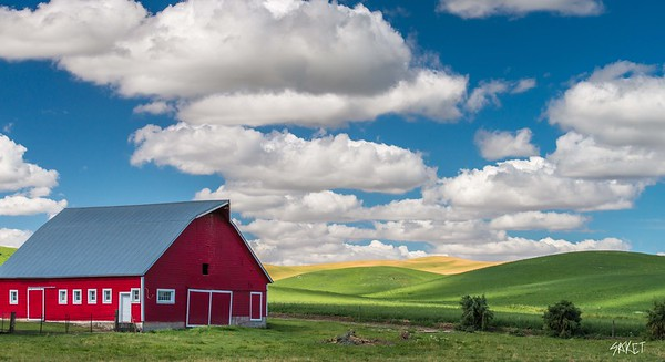 Red Barn Clouds