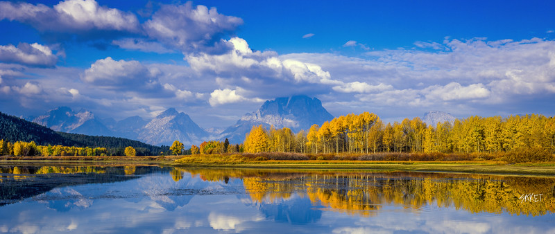 Oxbow Bend Fall