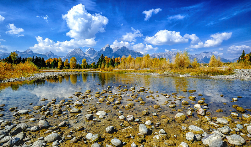 Tetons Fall Colors