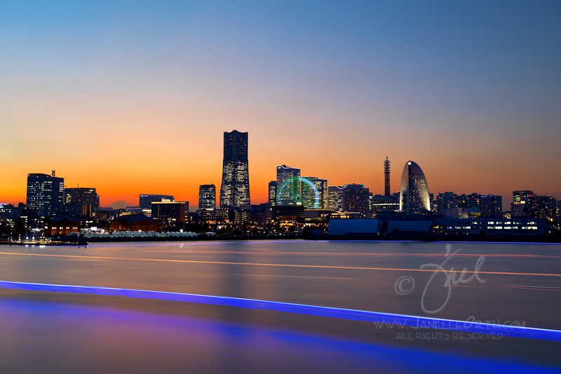 Yokohama Skyline  ©2017  Janelle Orth