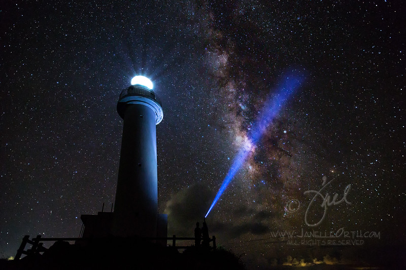 Lighting up the Milky Way  ©2017  Janelle Orth