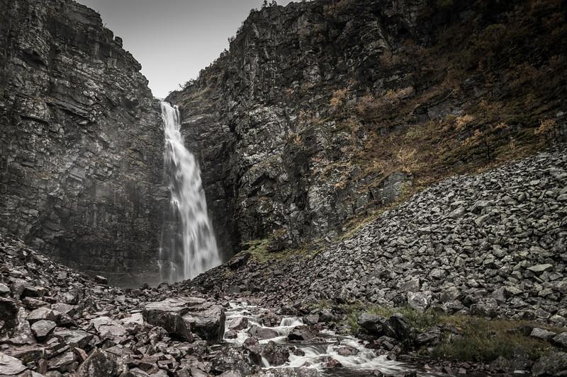 Njuperskärs waterfall - II