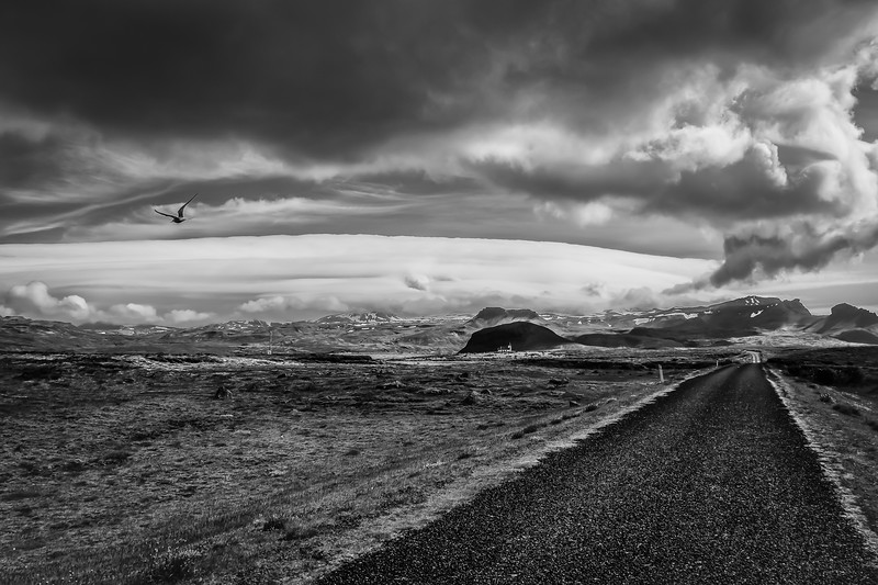 In the middle of nowhere - Iceland