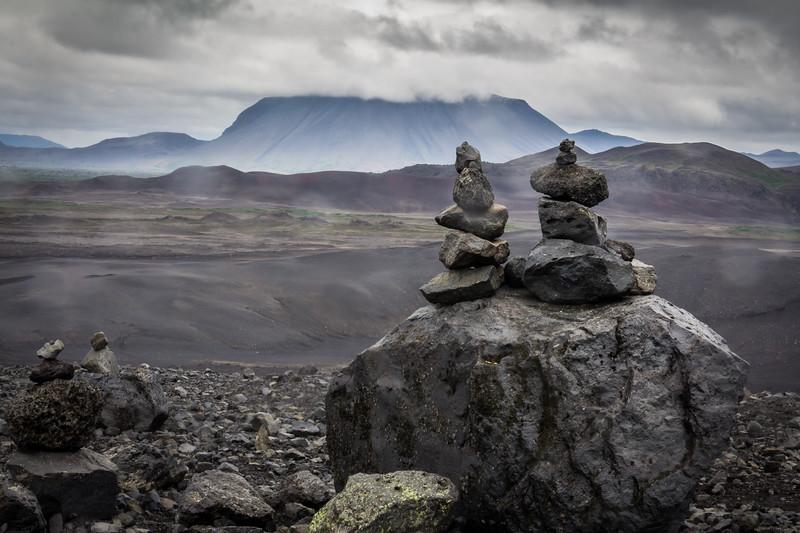 Vulcan crater - Myvatn - Iceland