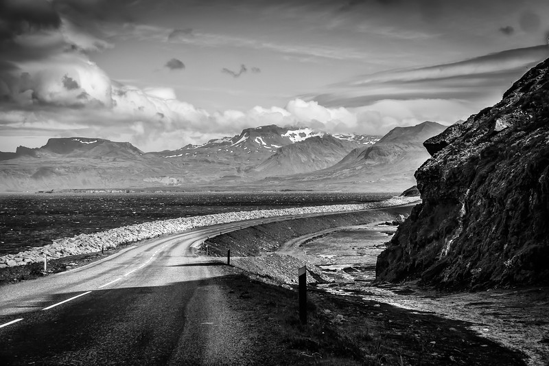 Road to nowhere - Iceland