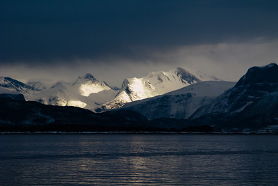 The Romsdalen Alps, seen from Molde