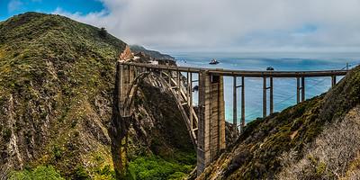 Bixby Bridge, Highway #1, Big Sur