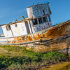 Old Fishing Boat, Point Reyes