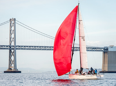 Double Digit, J/111 on San Francisco Bay.
