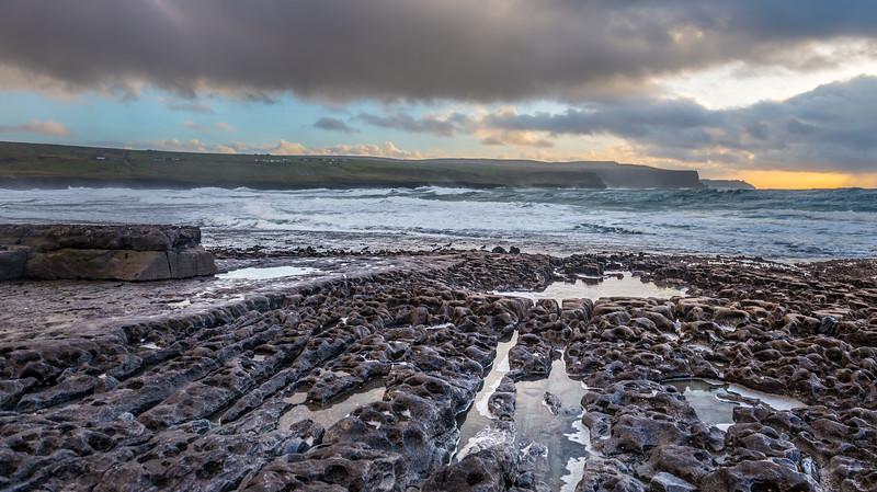 Doolin, Co. Clare. #Doolin, #wildatlanticway, #clouds, #seascape