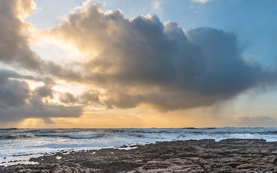 Doolin, Co. Clare. #Doolin, #wildatlanticway, #clouds, #seascape