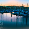 Monterey Harbor Sunset