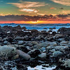 Rocky Shore Sunset