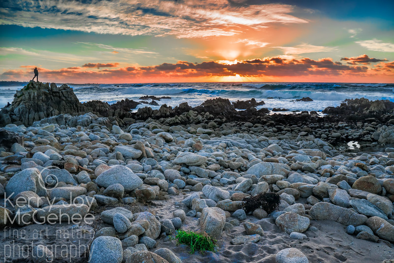 Asilomar Beach Sunset