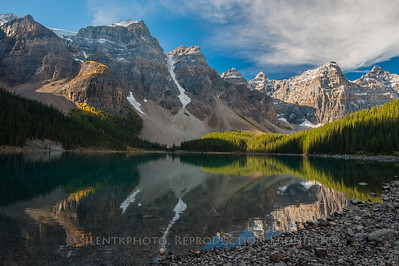 Lake Moraine Reflection - Banff National Park, CN