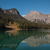 Emerald Lake - Reflection: Yoho National Park, CN