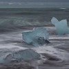 Icebergs at Black Diamond Beach - Iceland