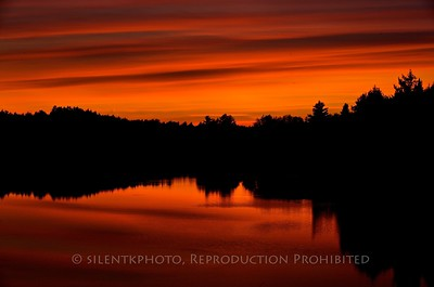 Sunset - Ambajejus Lake, Millinocket, Maine