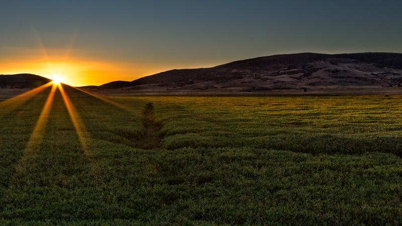 Sunrise in Cuyamaca
