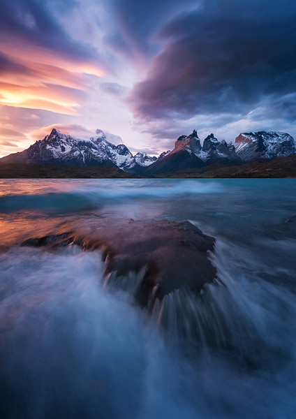 Patagonian winds- Lago Pehoé