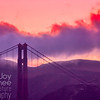 Golden Gate Sunset Silhouette
