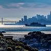 Blue San Francisco Morning
