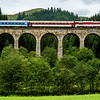 Chmarošský viadukt a  rýchlik Horehronec