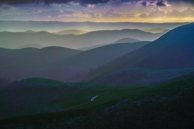 Morgan Territory Silhouette