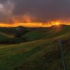 Sunlit Sunset at Morgan Territory