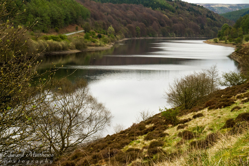 Ladybower Reservoir (Peak District in England)