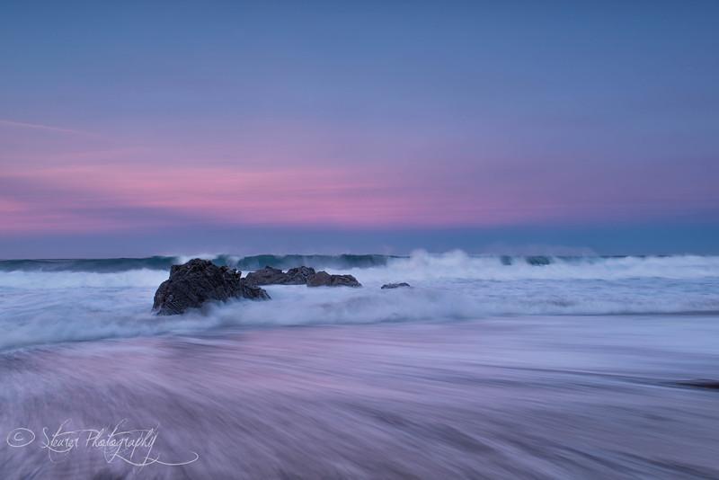 I believe in pink - Garrapata Beach, Big Sur, CA