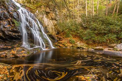 Fall at Spruce Flats Falls