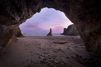 Carved Away - Bandon, Oregon