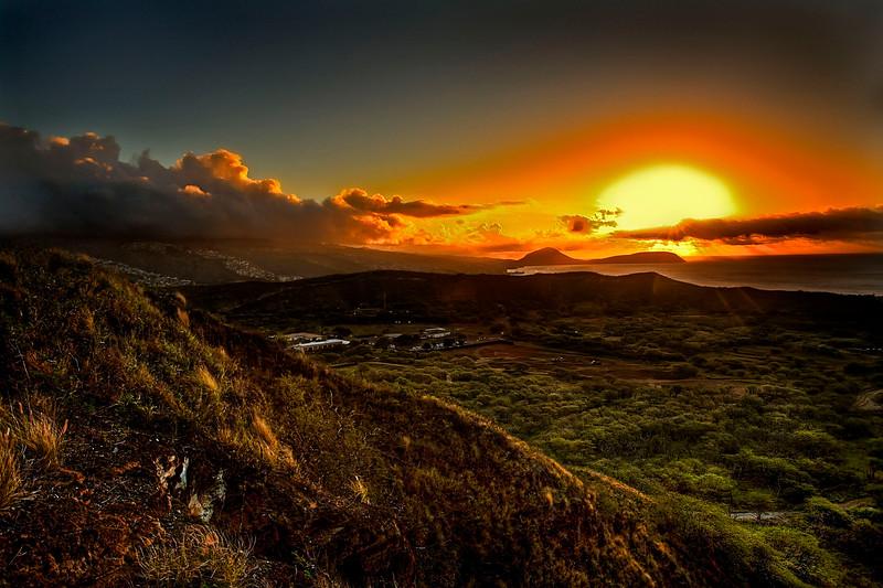Diamond Head sunrise (1)