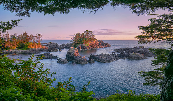 As the Sun Sets - Uclulet, Vancouver Island, British Columbia