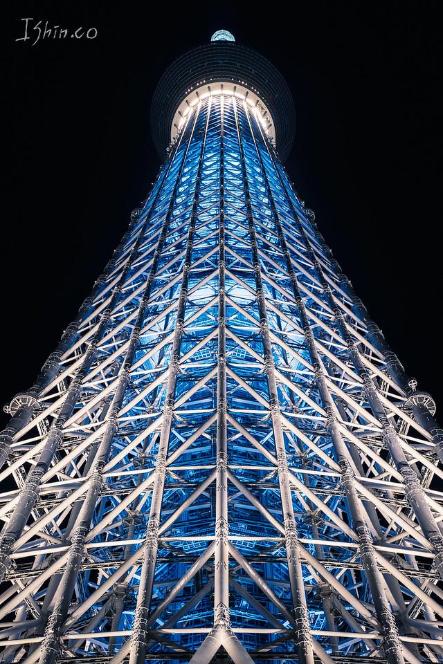스카이트리 #스카이트리 #도쿄 #일본 #여행 #도시 #강 #풍경 #야경 #skytree #tokyo #japan #travel  #cityscape