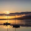 """Golden Sunset"" - taken near Oban, Scotland."