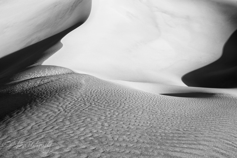 Lines - Mesquite Sand Dunes, Death Valley, CA
