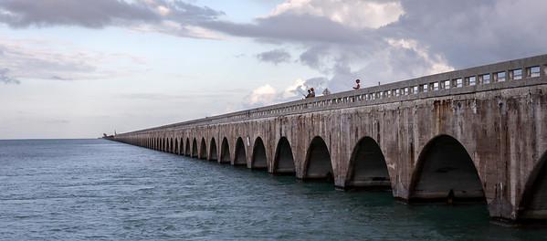 Bridge on Little Duck Key, Florida Keys, USA