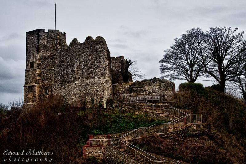 Lewes Castle (near Brighton, England)