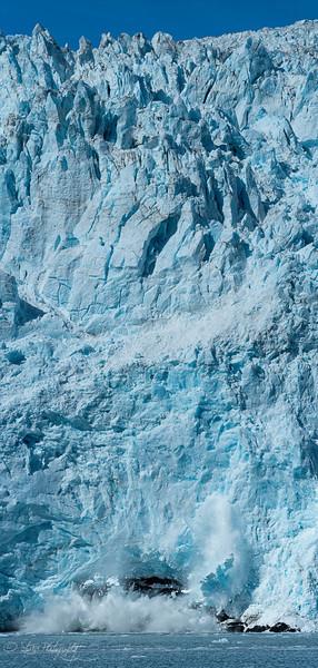 Water and Ice - Hogate Glacier, Kenai Fjords NP, AK