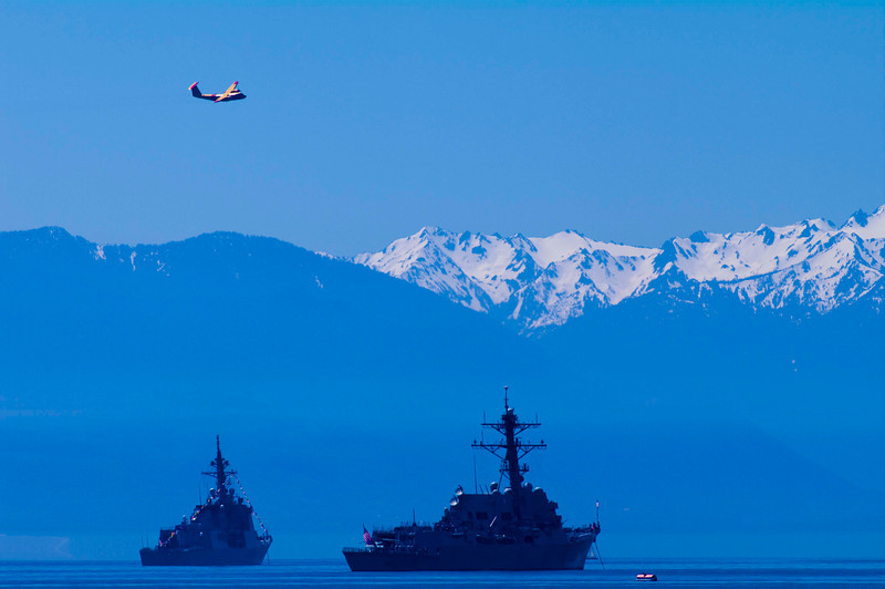 Esquimalt, British Columbia<br /> Navy's 100th Birthday<br /> Camera: Pentax K-7 / Lens A*300/2.8