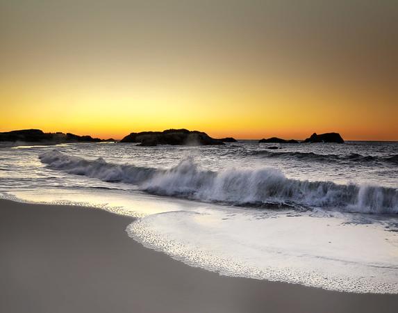 sunrise in little compton