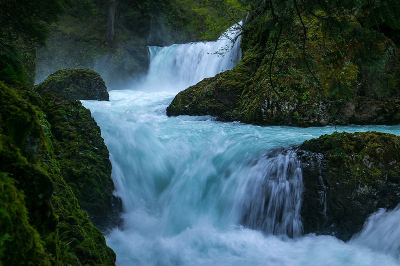 Spring Flow at Spirit Falls