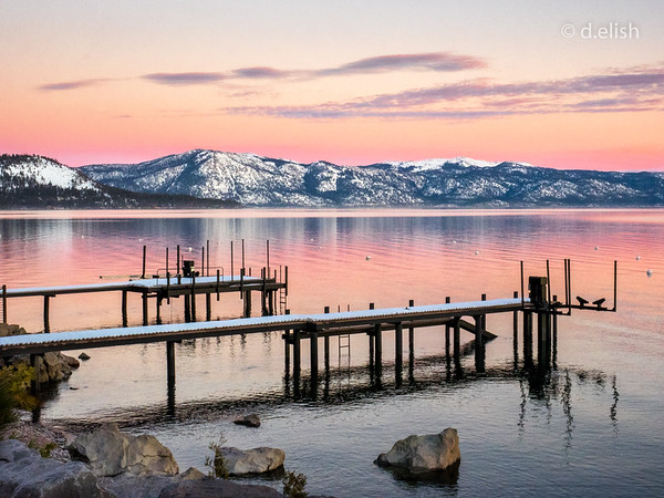 Lake Tahoe at Dusk