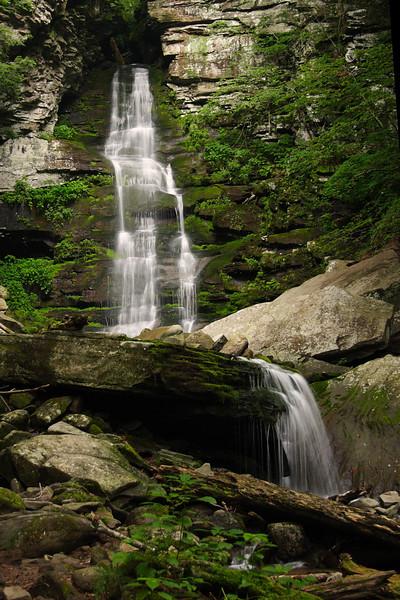 Buttermilk Falls. Located along Peekamoose Road in SW Ulster County, NY.
