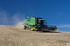 harvest along 272 from Colfax to Palouse